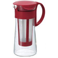 Hario Mizudashi Coffee Pot Glass 600ml - Red