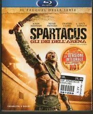SPARTACUS - GLI DEI DELL'ARENA - BLU-RAY Cofanetto 3 dischi - NUOVO - SIGILLATO