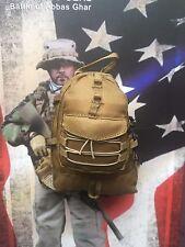 MINI volte US Navy Seal Battaglia di Abbas EL MAP 3500 Back Pack Loose SCALA 1/6