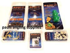 Band it Feeder Fishing Pack accessoires mode liens Crochets, Tasse Moule Appât 3 kit