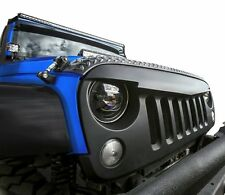Angry Bird Front Matte Black Grille for Sahara Rubicon 07-18 Jeep Wrangler JK
