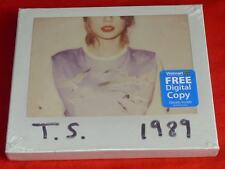 1989 by Taylor Swift (CD,2014, Big Machine Records) + Free Digital Copy WALMART