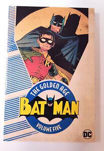 BATMAN: THE GOLDEN AGE VOL 5 TPB (2018, DC Comics) NEW OOP
