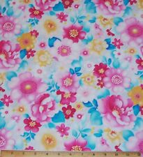 Bloomsbury Square BTY Fabri-Quilt Dusty Lavender Lilac Floral Flowers