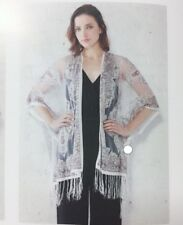 Women Summer Paisley Shawl Kimono Cardigan Tops Beach Cover Up Blouse Beachwear