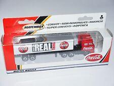 DAF 3300 Sattelzug tractor unit + trailer Coca Cola Matchbox Convoy CY-25 BOXED!