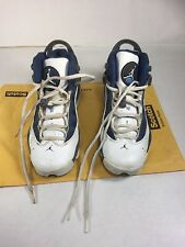 Nike Air Jordan 6 Rings White/French Blue-Flint Grey-Blue 323419-141 GS SZ 4Y