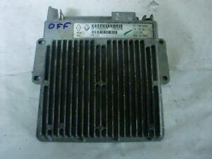 calculateur Renault safir 1 débloqué 7700104481 magneti ( immo off ) (réf 0060)