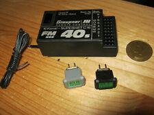 Empfänger Graupner C 16 - (40 Mhz)  + Quarzpaar 83 FM SSS