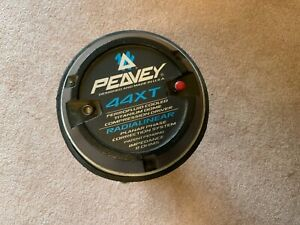 Peavey 44XT w/adapter Driver bolted to Electro Voice Transplanar HP64