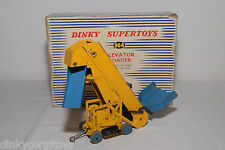 DINKY TOYS 964 ELEVATOR LOADER YELLOW BLUE EXCELLENT BOXED