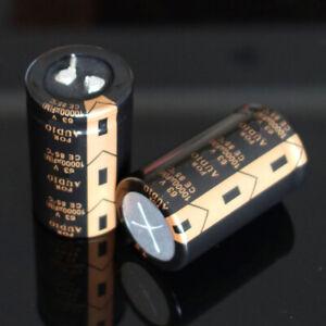4x 10000uF 63V Audio Top Power filtre électrolytique condensateur 30 x 50mm~