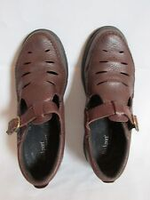 Rockport  Womens Brown Leather Loafer Excellent Walking Shoes US 8M