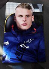 Signiertes Foto Mitchel Bakker Niederlande Ajax Amsterdam  NEU