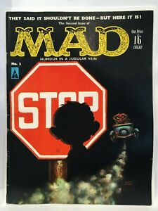 Mad Magazine #2 UK Edition FN (6.0)