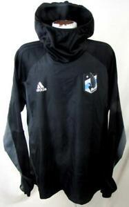 Minnesota United FC Mens 2XL Adidas Climawarm Pullover Hooded Sweatshirt MNU 12