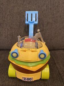 Spongebob Squarepants Krabby Patty Wagon 2013 REPLACEMENT Crabby Hamburger Car