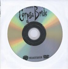 Corpse Bride (2005) Johnny Depp Dvd Disc Animation Drama Family Free Shipping