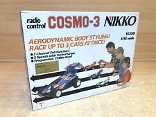 Vintage Nikko 1:16 scale radio controlled car Cosmo 3 15350 BRAND NEW OLD STOCK