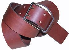 Paul Smith Hecho en Inglaterra Cinturón De Cuero Marrón talla-38 NUEVO ETIQUETAS RARO