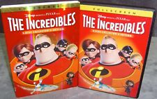 The Incredibles (DVD, 2-Disc Set, Fullscreen, Collector's Edition) No Scratches