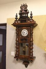 Rare Gustav Becker spring driven wall clock at 1910