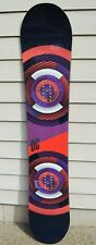 2012 WOMENS DC TONE ROCKER 153 SNOWBOARD $340 Demo 4mm anti camber mid high flex