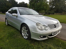 2005 (55) MERCEDES C220 CDI SE DIESEL AUTOMATIC COUPE PANO S/ROOF P/EX TO CLEAR
