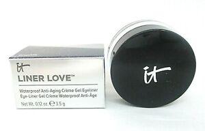 It Cosmetics Liner Love Waterproof Eye Liner Gel ~ Graphite ~ 0.12 oz BNIB