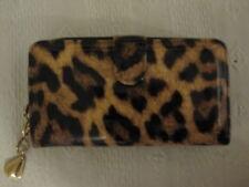 Portefeuille, porte-carte, porte-monnaie femme en simili synthétique imprimé pan