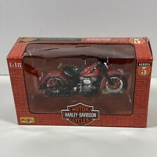 Maisto Harley-Davidson 1948 FL Panhead 1:18 Diecast Motorcycle Series 5