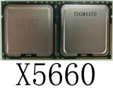 2x Intel Xeon x5660 CPU 12x 2,8 GHz Six Core procesador-slbv 6-matched Pair- ver