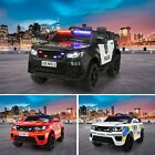 12V Kids Ride On Car Police Electric Battery Powered Off Road Toy Remote Control <br/> Music/Horn/Story/LED light/Bluetooth/Twin Drive/3 Speed