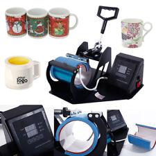 DIY Cup Coffee Mug Heat Press Transfer Sublimation Machine Display Digital New