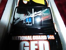 JEFF GORDON  Autographed  2009 Impala SS National Guard 1:24 diecast  TEXAS Win