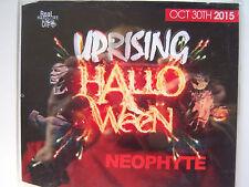 UPRISING - 30.10.15 -  HALLOWEEN - NEOPHYTE  CD