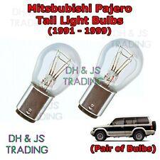 Mitsubishi Pajero Tail Light Bulbs Pair of Rear Tail Light Bulb SUV (91-99)