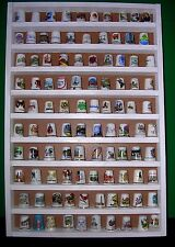 100 thimble display rack -  white wood