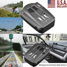 16 Band Car Trucker Speed Voice Alert Warning V9 Laser Radar Detector 360° USA