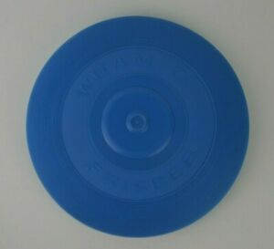 Vintage Wham-O Frisbee Blue 1960s First Frisbee 1966 Classic Old School Toy