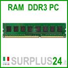 Memoria RAM 4GB DDR3 (1x4GB) PC3-10600U 1333Mhz DDR3 240 pin x DESKTOP No Ecc
