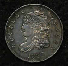 1829 Half Dime, strong XF, antique toning