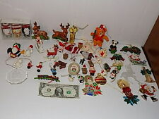 Christmas Tree Ornament Xmas 48 pieces Lot Vintage Decor Party