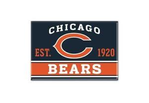 Chicago Bears Photo Magnet with Logo, NFL Football, Team Gründungsjahr