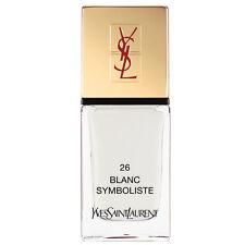 Yves SAINT LAURENT LA Pigmento Couture-SMALTO PER UNGHIE 26 Blanc simbolista