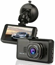 "HD 1080P Dash Cam 3.0"" Car Camera with Motion Detection Parking Guard G-Sensor"