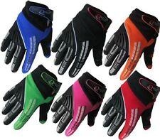 Motocross-und Offroad-Handschuhe aus Polyester mit Klettverschluss
