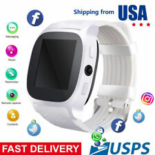 Bluetooth Smart Watch Touch Screen Smartwatch for Samsung Galaxy S10 S9 S8 S7 S6