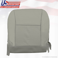 2010 Lexus RX350 Front Driver Bottom Perforated Leather Replacement Cover Gray