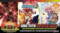 Future Card Buddyfight BFE-D-BT01A Buddy Rave Booster Box